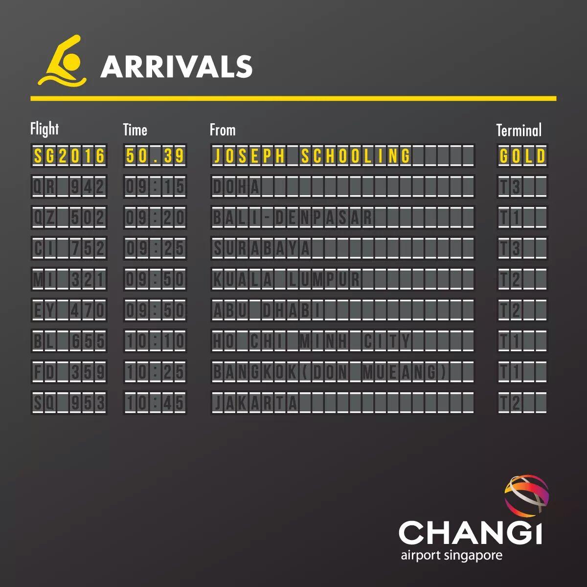 via Facebook / Changi Airport