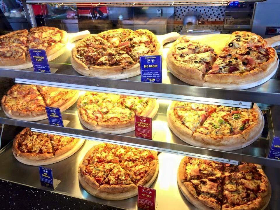 Pezzo Pizza Kuching Stampin