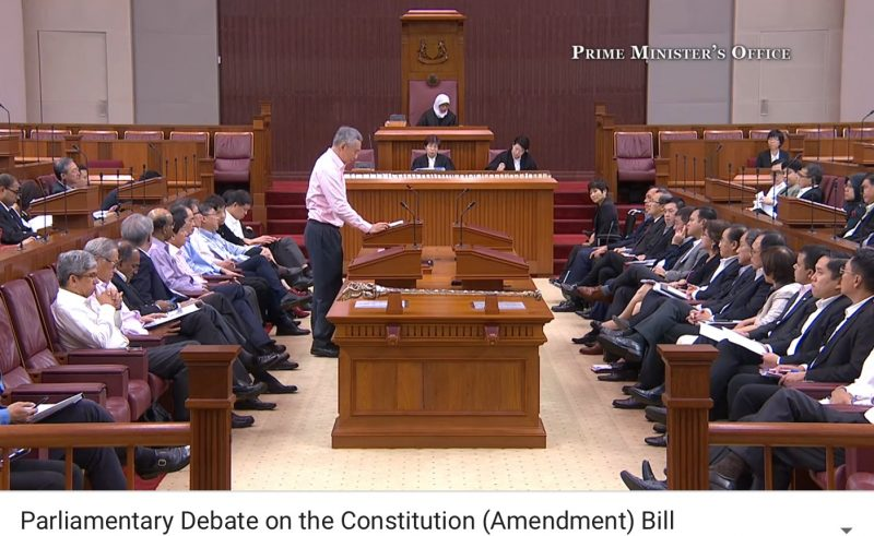 Debate on the Constitution (Amendment) Bill on Elected Presidency